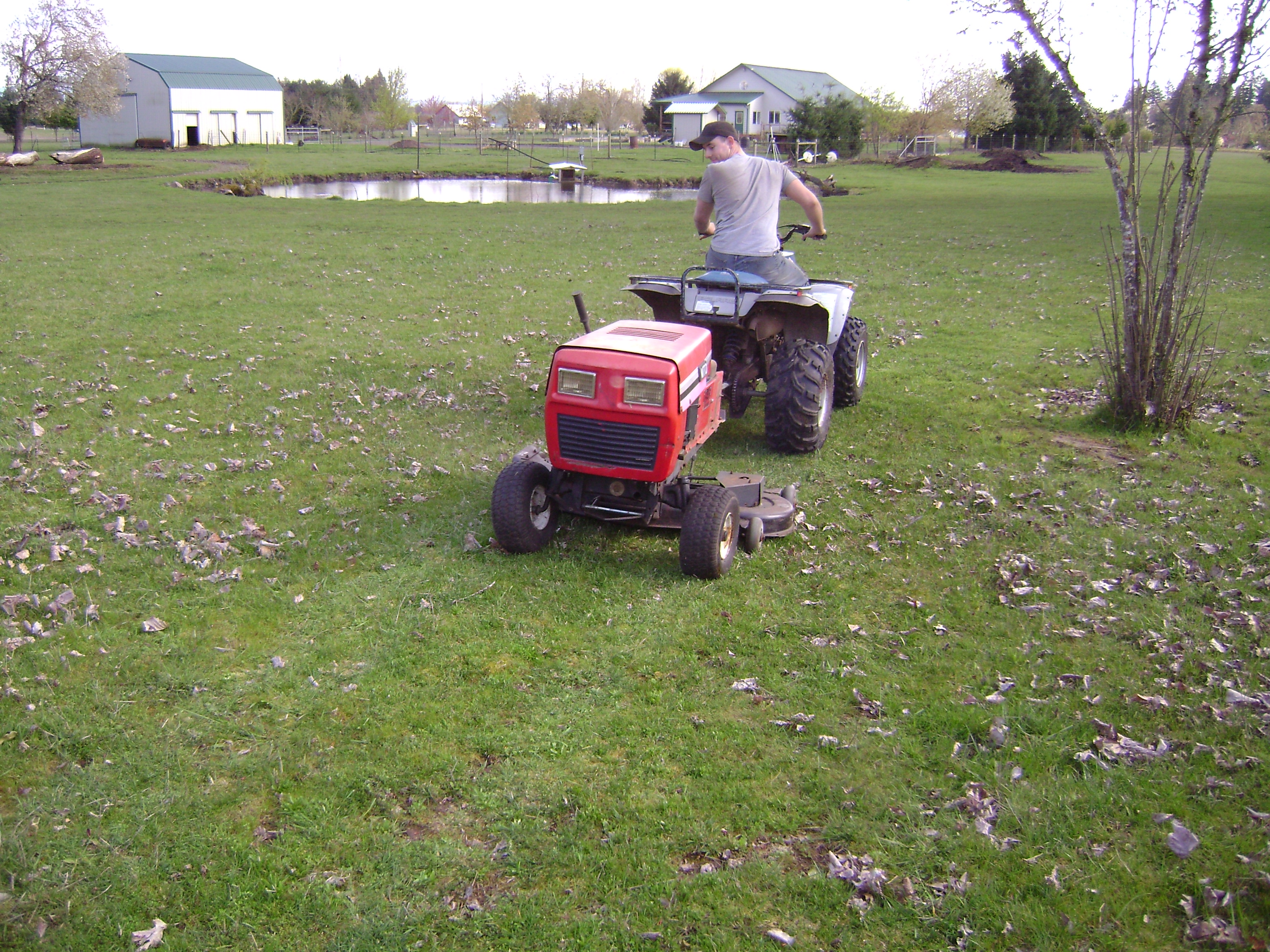 A Mower To Tow Behind Your Atv Homegrownengineer