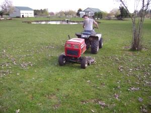 Pull mower 010